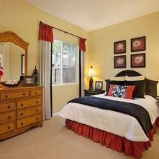 Traditional Bedroom by Borden Interiors & Associates