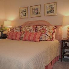 Eclectic Bedroom by Rachel Oliver Design, LLC