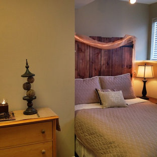 Inspiration for a country bedroom remodel in Chicago