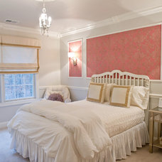 Traditional Bedroom by Rose Abby Design