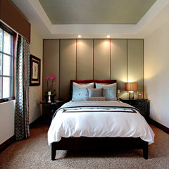 contemporary bedroom by Orange Coast Interior Design