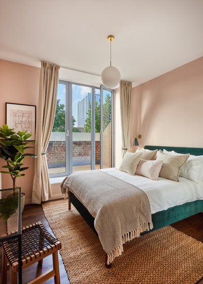 Contemporary Bedroom by The Style Pad