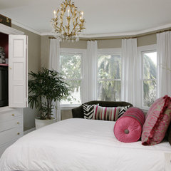 traditional bedroom by Amoroso Design