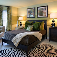 Eclectic Bedroom by Decorating Den Interiors --The Sisters & Company