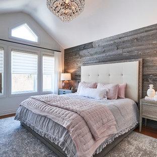 75 Beautiful Rustic Gray Bedroom Pictures & Ideas | Houzz