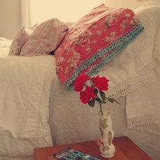Eclectic Bedroom Cozy Cottage Bedroom
