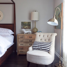 Contemporary Bedroom by Julie Holloway