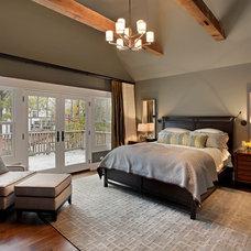 Craftsman Bedroom by Abruzzo Kitchen & Bath