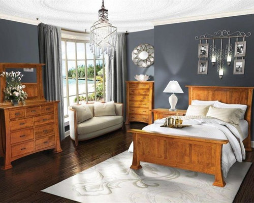 Tea light candle bedroom design ideas renovations photos for Arts and crafts bedroom ideas
