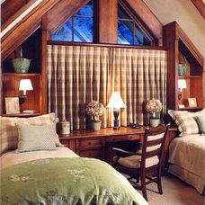 Craftsman Bedroom by Palmer Interior Design