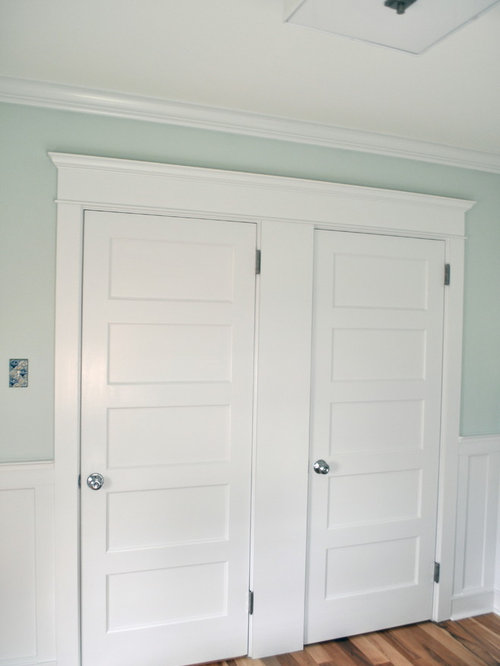 Craftsman style door casing houzz for Mission style trim molding