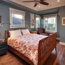 Craftsman Bedroom by Allen Construction