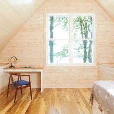 Modern Bedroom by Ingrained Wood Studios