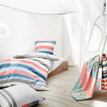 Create living athmosphere with matching patterns and colors