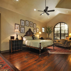 Mediterranean Bedroom by Rick O'Donnell Architect