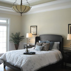 Traditional Bedroom by Leigh Newport Staged by Design®