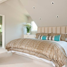 Contemporary Bedroom by TATUM BROWN CUSTOM HOMES