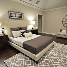 Contemporary Bedroom by Elite Staging and Redesign, LLC