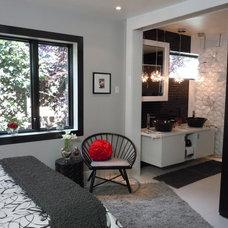 Contemporary Bedroom by Chu Chi Mu, Inc.