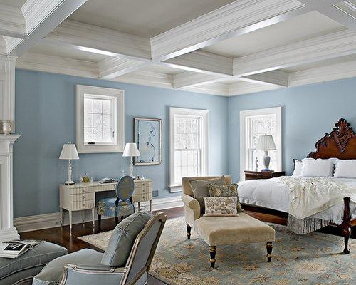 Blue Victorian Bedroom victorian bedroom | houzz