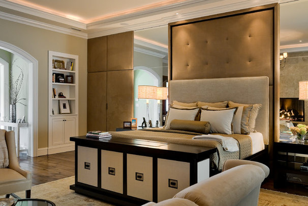 Bedroom by Crisp Architects