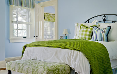 Summer Color Combo: Blue and Green