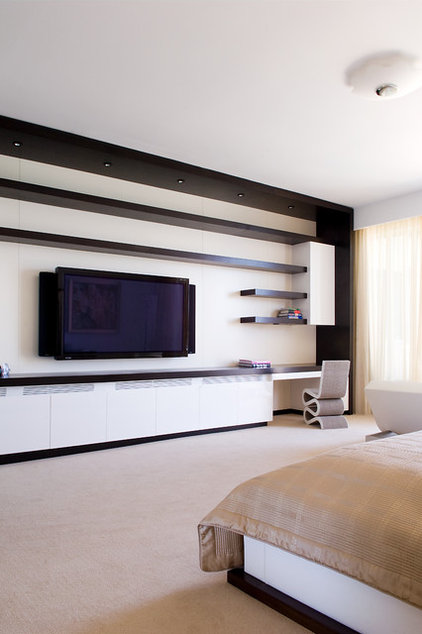 Contemporary Bedroom by Pepe Calderin Design- Modern Interior Design