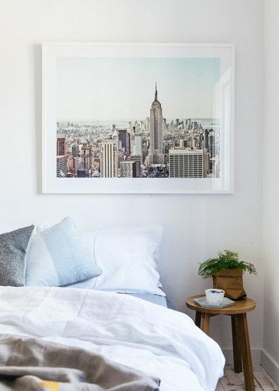 Scandinavian Bedroom by Caroline McCredie