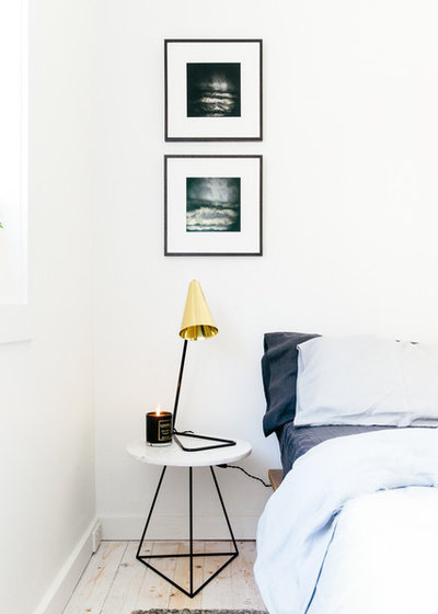 Scandinavian Bedroom by Caroline McCredie