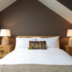 Luxe Hunting Lodge Rustic Bedroom Omaha By The