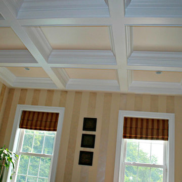 Crown Moulding and Coffered Ceilings