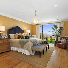 Mediterranean Bedroom by Western Pacific Construction