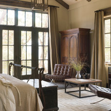 Rustic Bedroom by Kahn Design Associates