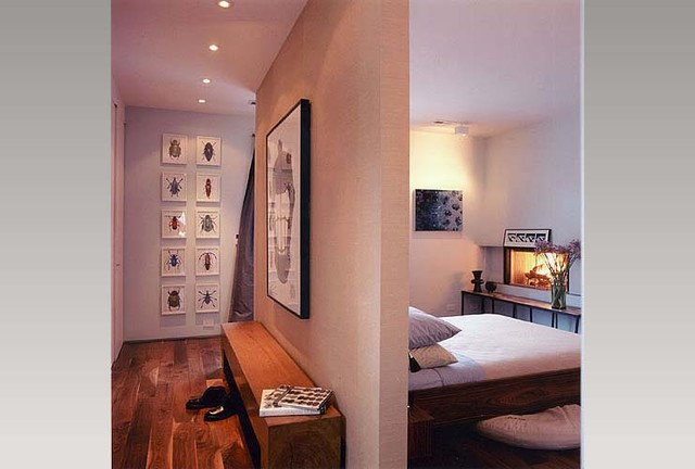 Contemporary Bedroom by Roger Hirsch Architect