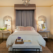 mediterranean bedroom by Laura Martin Bovard