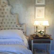 Eclectic Bedroom by Debbie Dusenberry, aka CuriousSofa.com