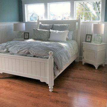 Curly Maple Custom Hardwood  - Newport Rhode Island