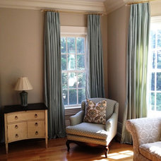 Traditional Bedroom by Curtain Works of Greenwich