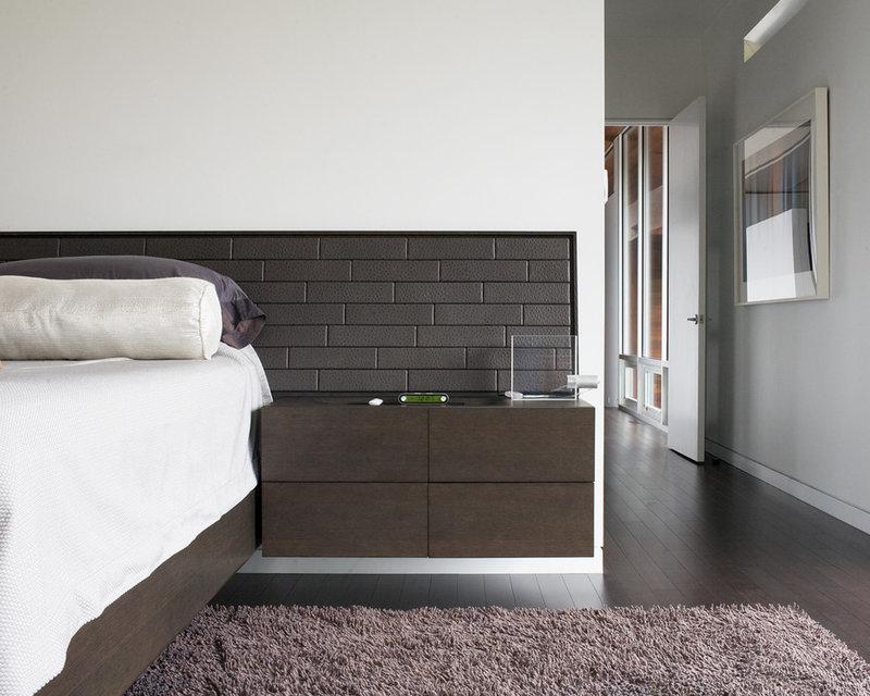 现代卧室由Hufft项目
