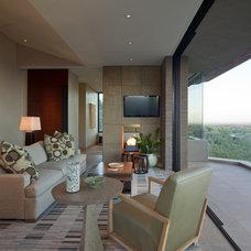 Southwestern Bedroom by Swaback Partners, pllc