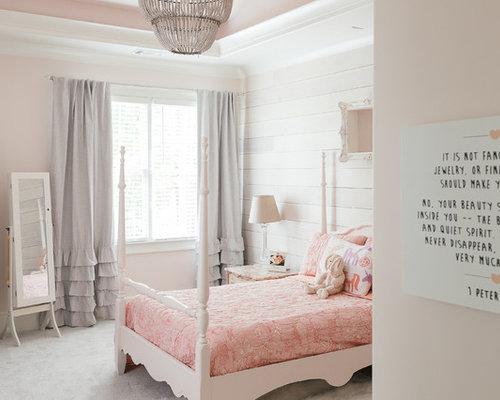 Pareti Rosa Camera Da Letto : Camera da letto con pareti rosa atlanta foto e idee per arredare