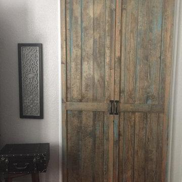 Custom Barn Style Door, Flippin' Rustic