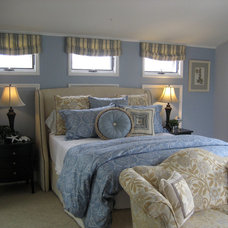 Traditional Bedding by Elegant Domain Interiors