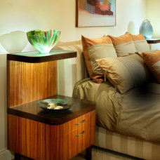 contemporary nightstands and bedside tables by PVZ Design, LLC