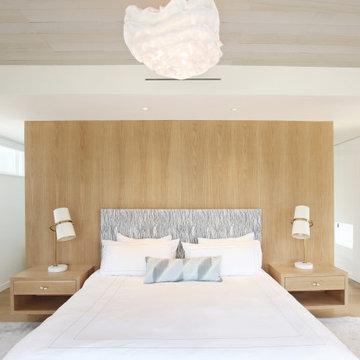 Custom Built-In Bed in Master Bedroom