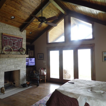 Custom Country Style Master Bedroom Remodel
