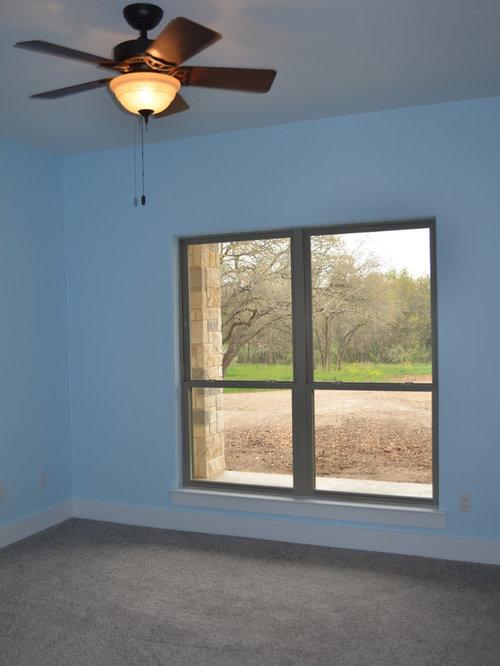 Arts and crafts blue bedroom design ideas renovations for Arts and crafts bedroom ideas