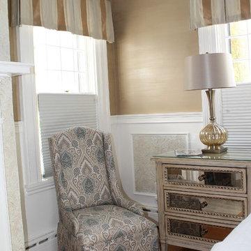 Custom Decorative Painting - Master Bedroom, Dressing Suite & Bath