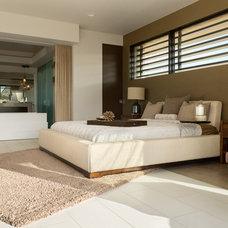 Contemporary Bedroom by Blue Heron Design-Build