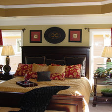 Traditional Bedroom by Window Dazzlers by Mar Innovations Inc